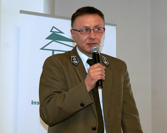 Naczelnik DGLP Jacek Przypaśniak